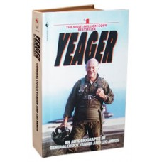 Yeager Autobiography - paperback sized hardcover